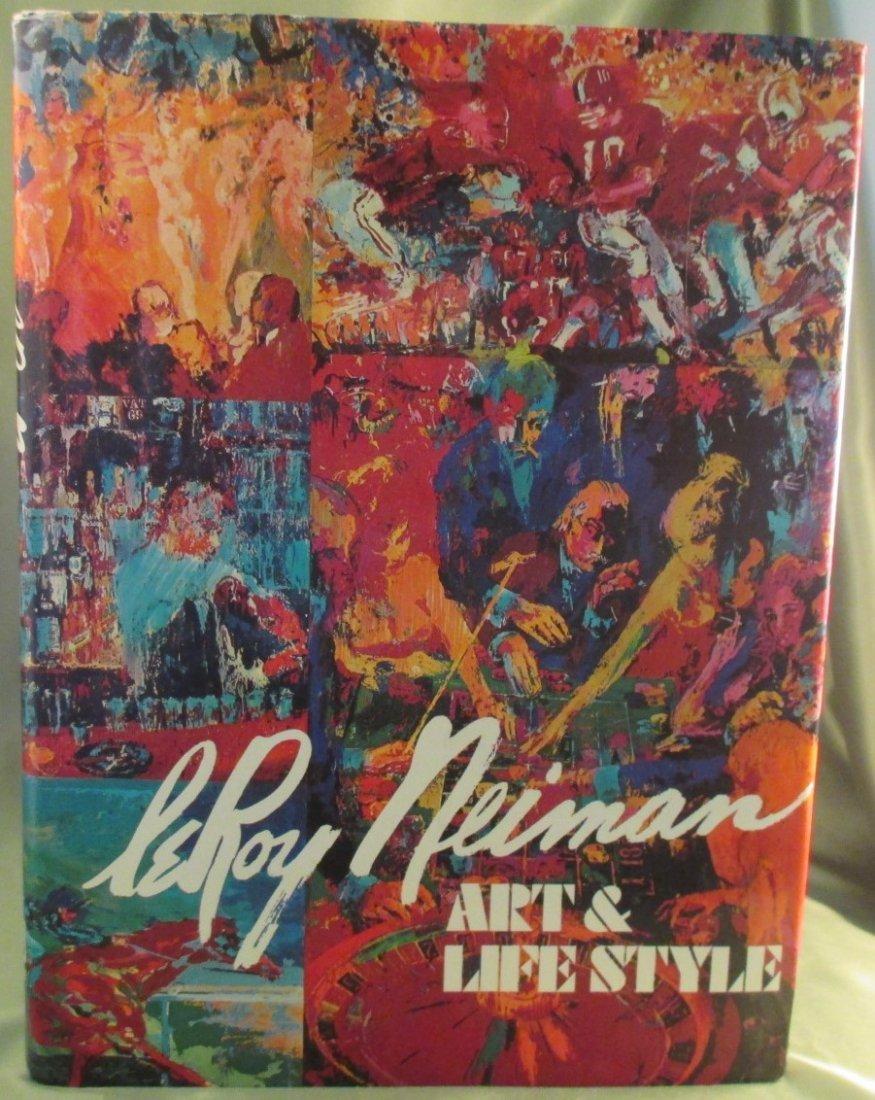 LeRoy Neiman: Art & Life Style 1st Edition,1st Printing