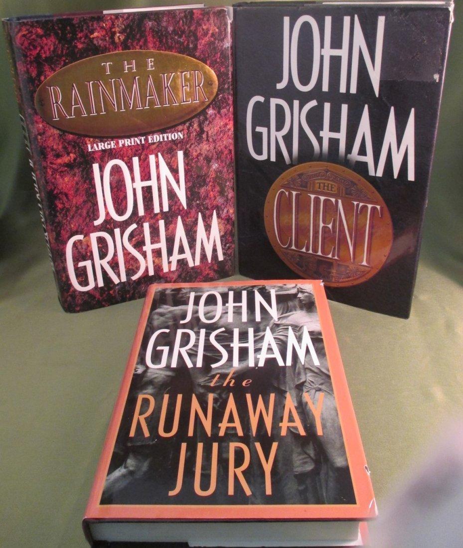 John Grisham, First Edition Lot  HC with Dust Jacket