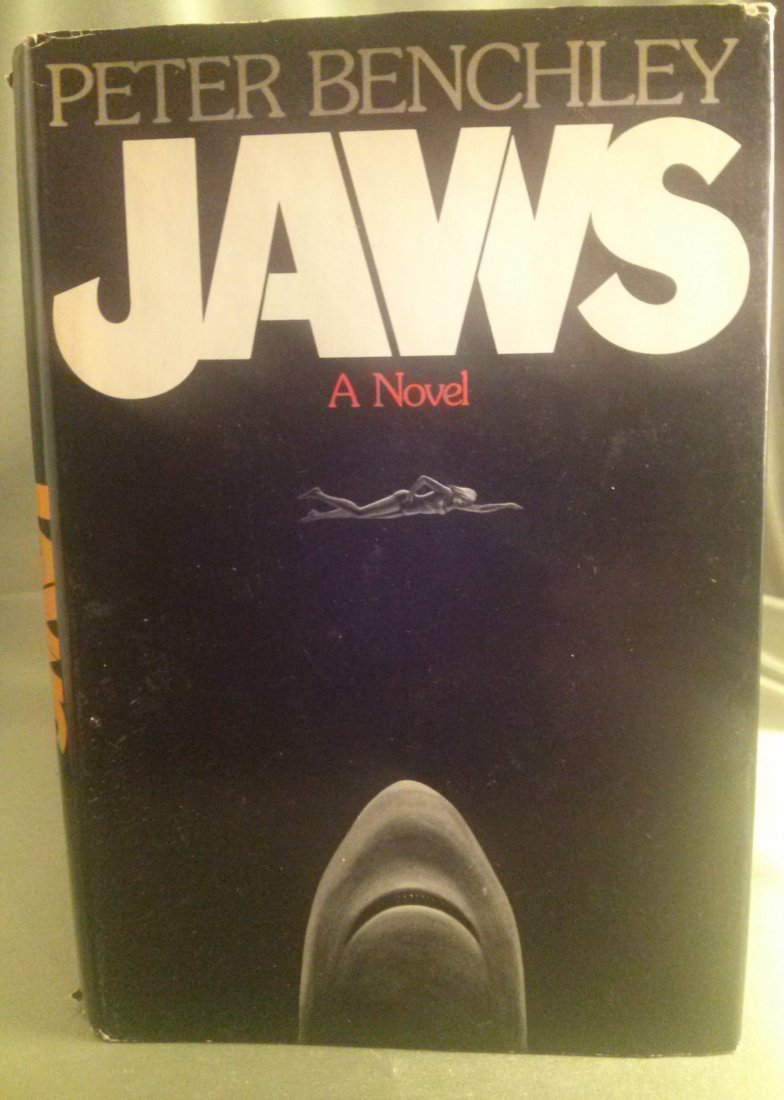 Peter Benchley JAWS A Novel 1st Edition 1st Print
