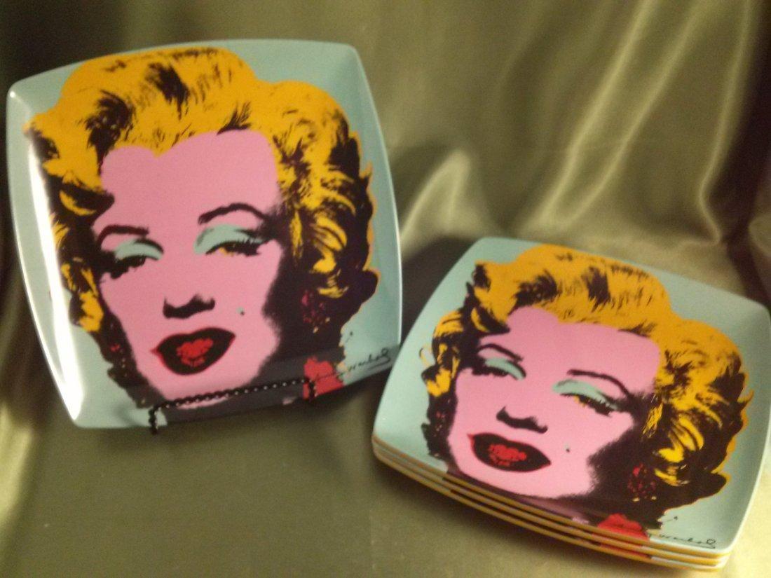 Precidio Objects Andy Warhol Plates