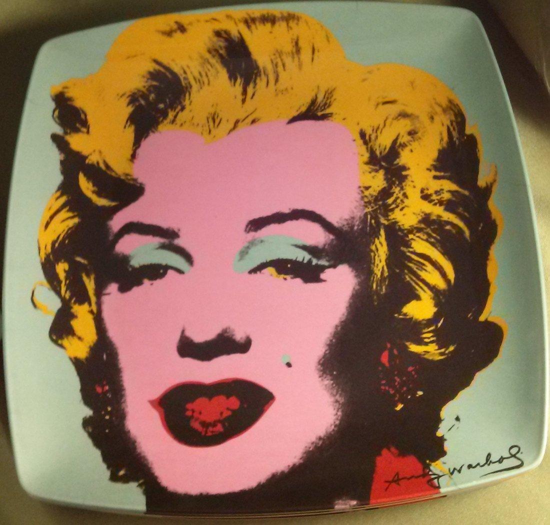 Precidio Objects Andy Warhol Plates - 2