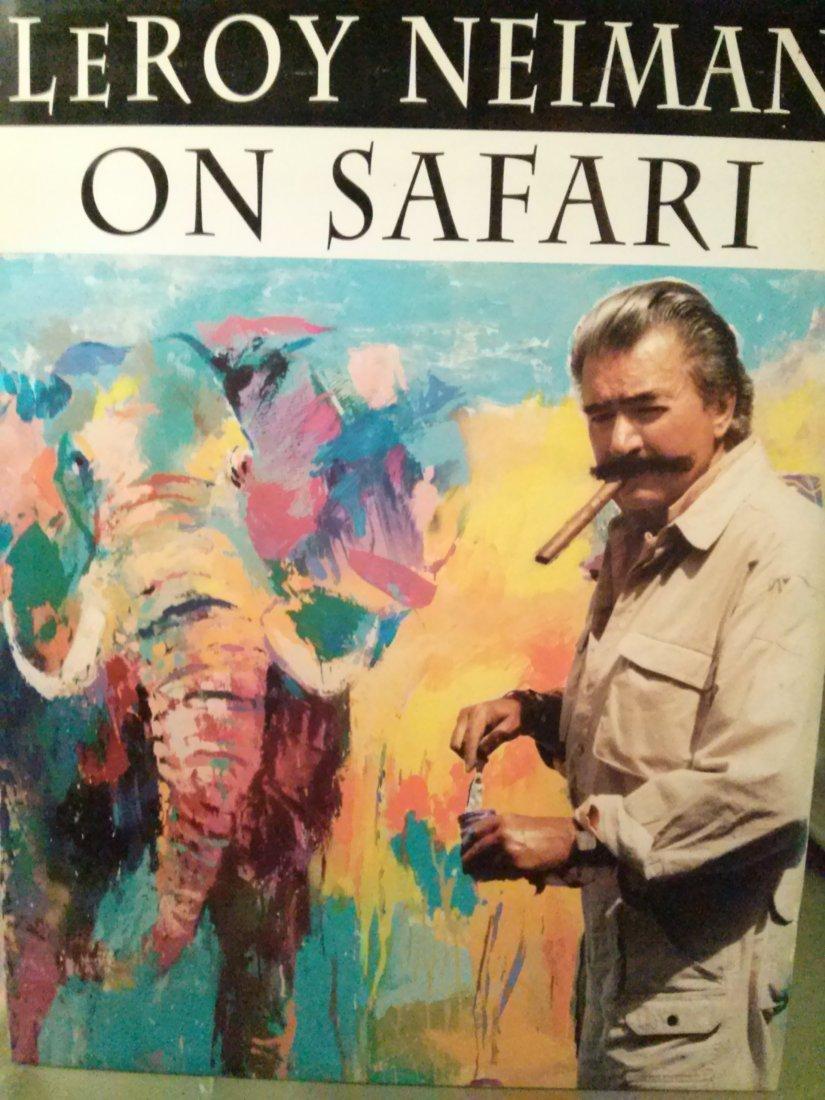 LeRoy Neiman On Safari by LeRoy Neiman Signed