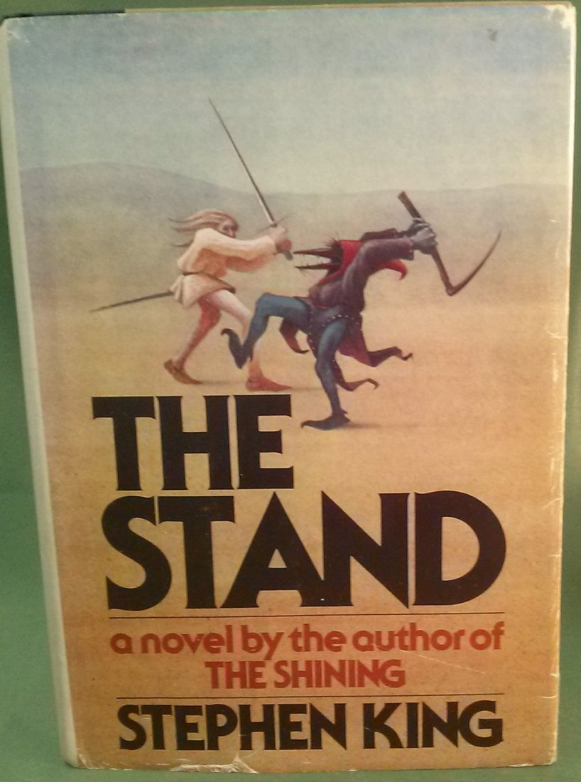 """Stephen King THE STAND 1st Edition/1st Printing """"T39"""
