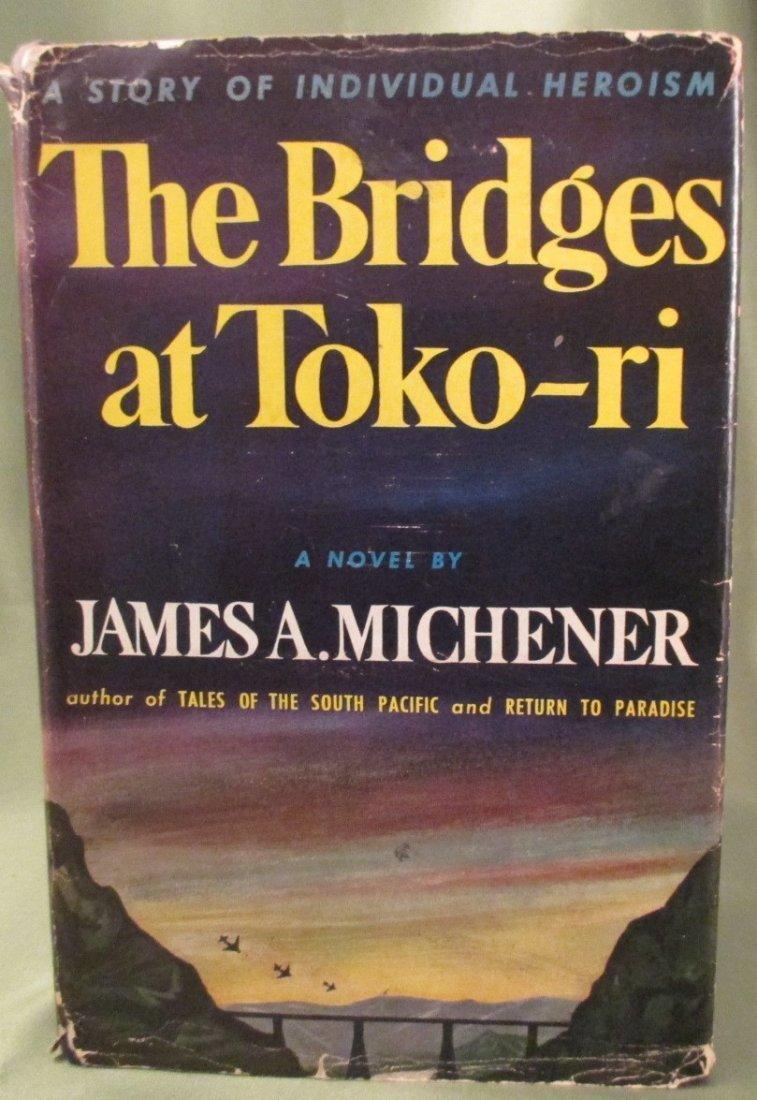 James Michener,The Bridges at Toko-ri  1st Ed.1st print