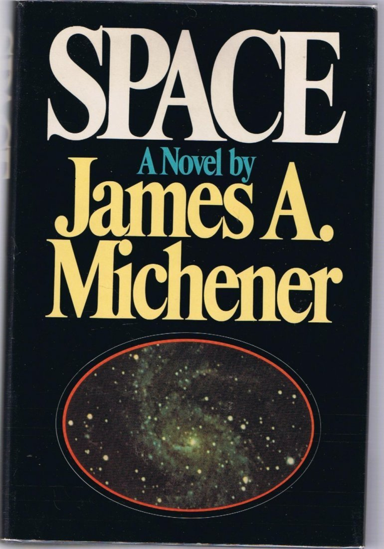 """James A. Michener """"Space"""" First Edition Signed"""