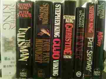 Stephen King First Ed. First Novel Lot ( Hardcover)
