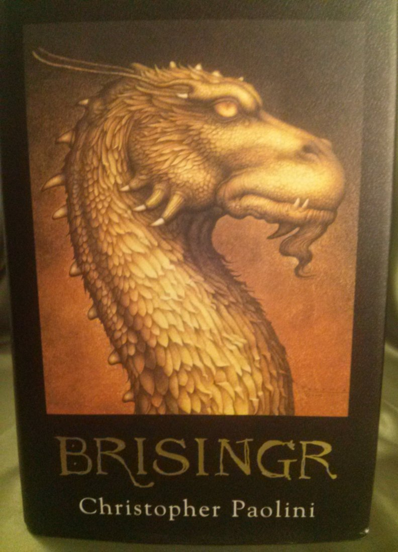 Christopher Paolini BRISINGR First Edition