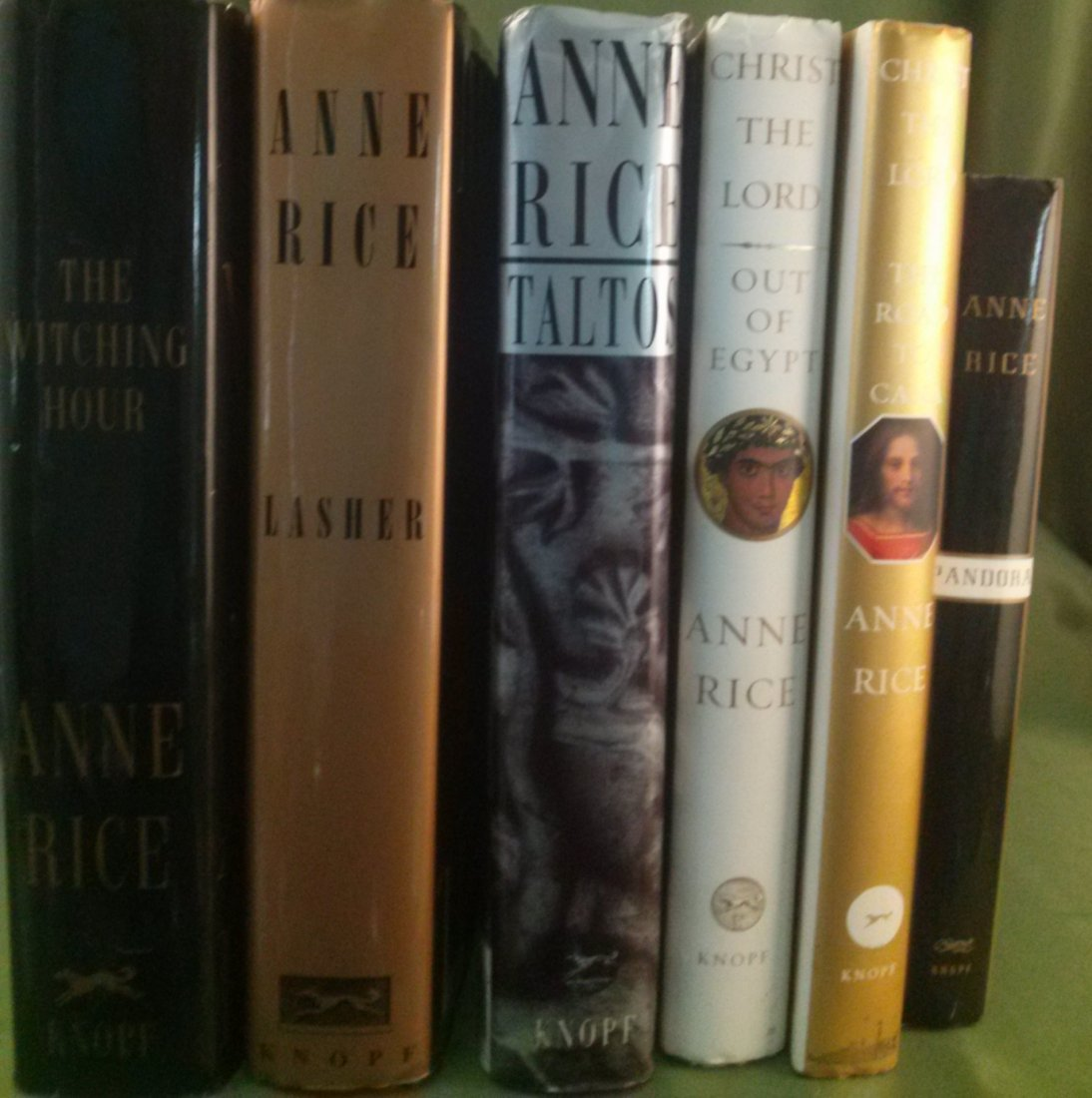 Anne Rice First Edition Novel Collection - 10