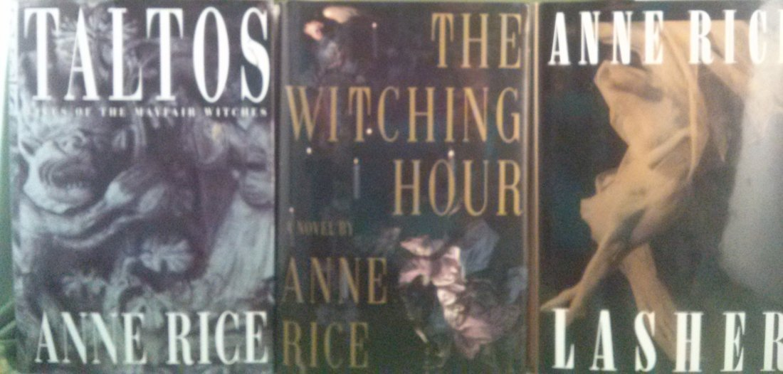 Anne Rice First Edition Novel Collection - 2