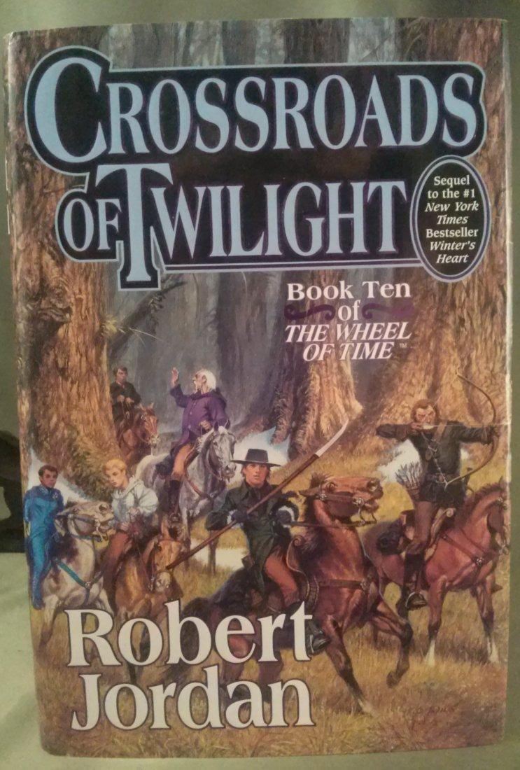 Robert Jordan CROSSROADS OF TWILIGHT 1st ed. 1st print