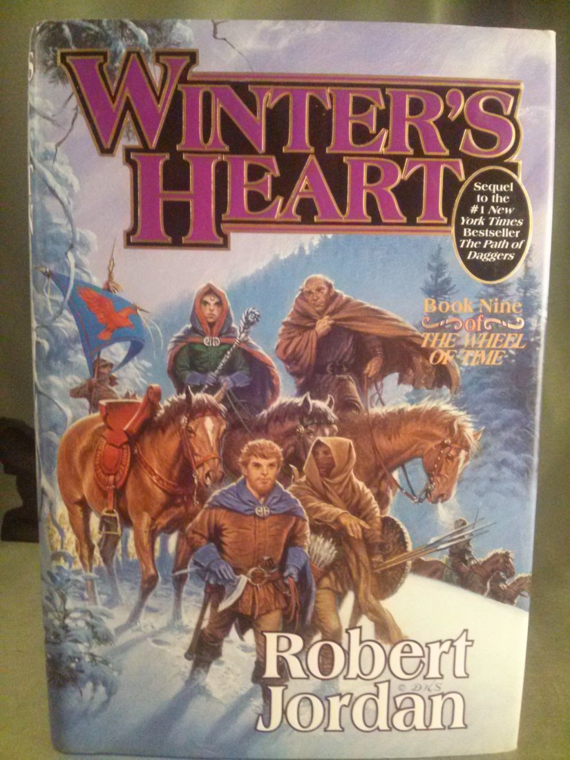 Robert Jordan WINTER'S HEART 1st ed. 1st Print