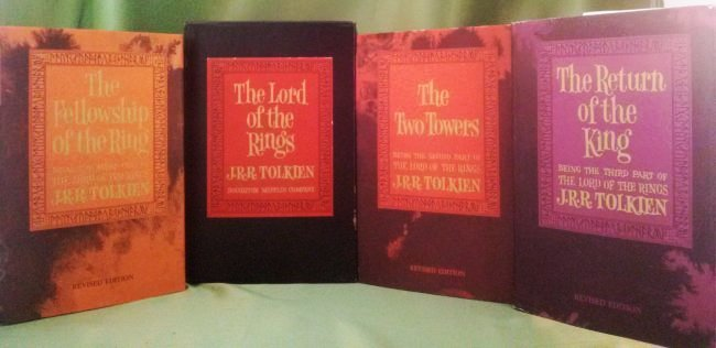 J.R.R Tolkien THE LORD OF THE RINGS Trilogy set  1965