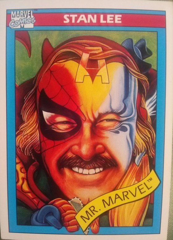 Marvel Universe Series 1 Trading Cards 1990