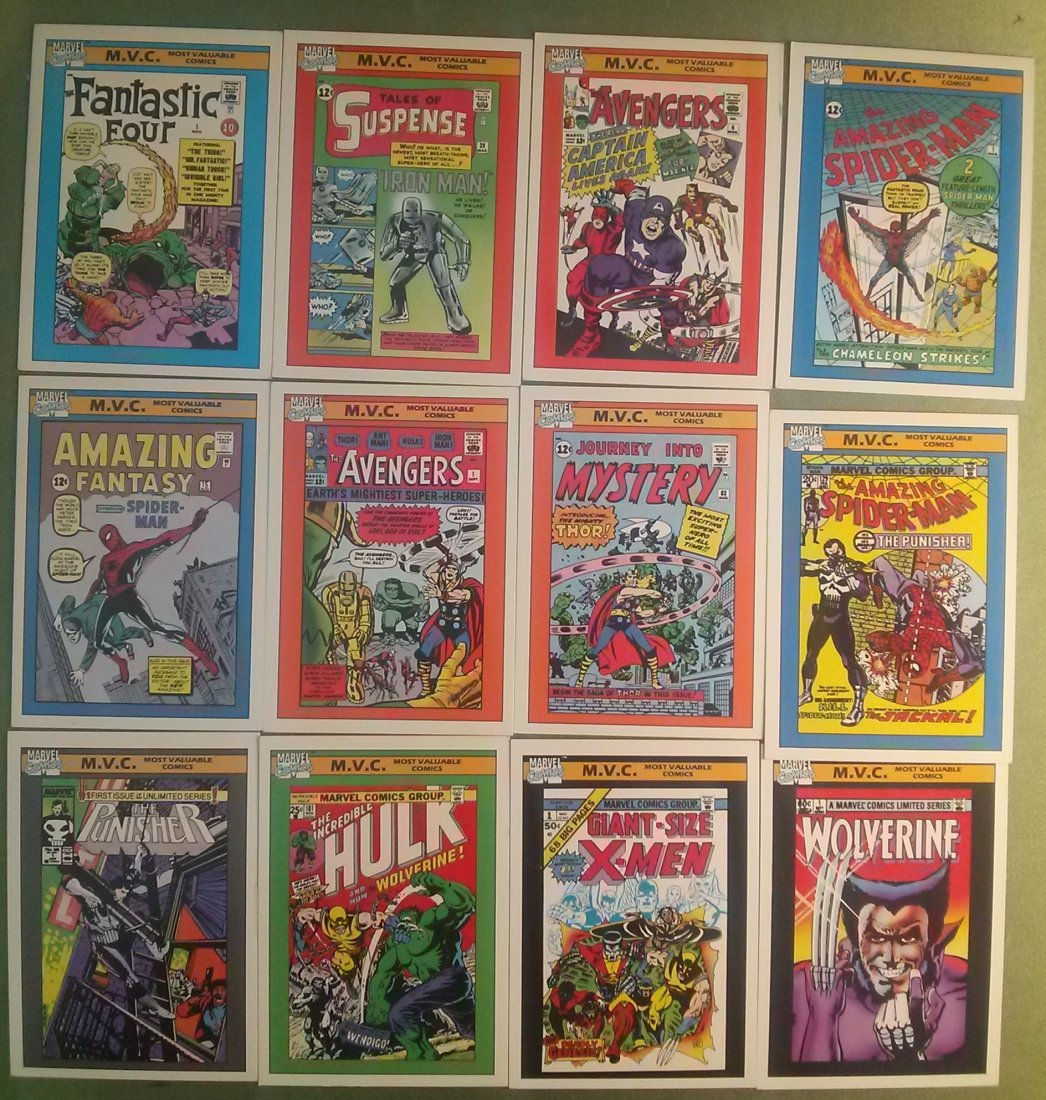 Marvel Universe Series 1 Trading Cards 1990 - 2