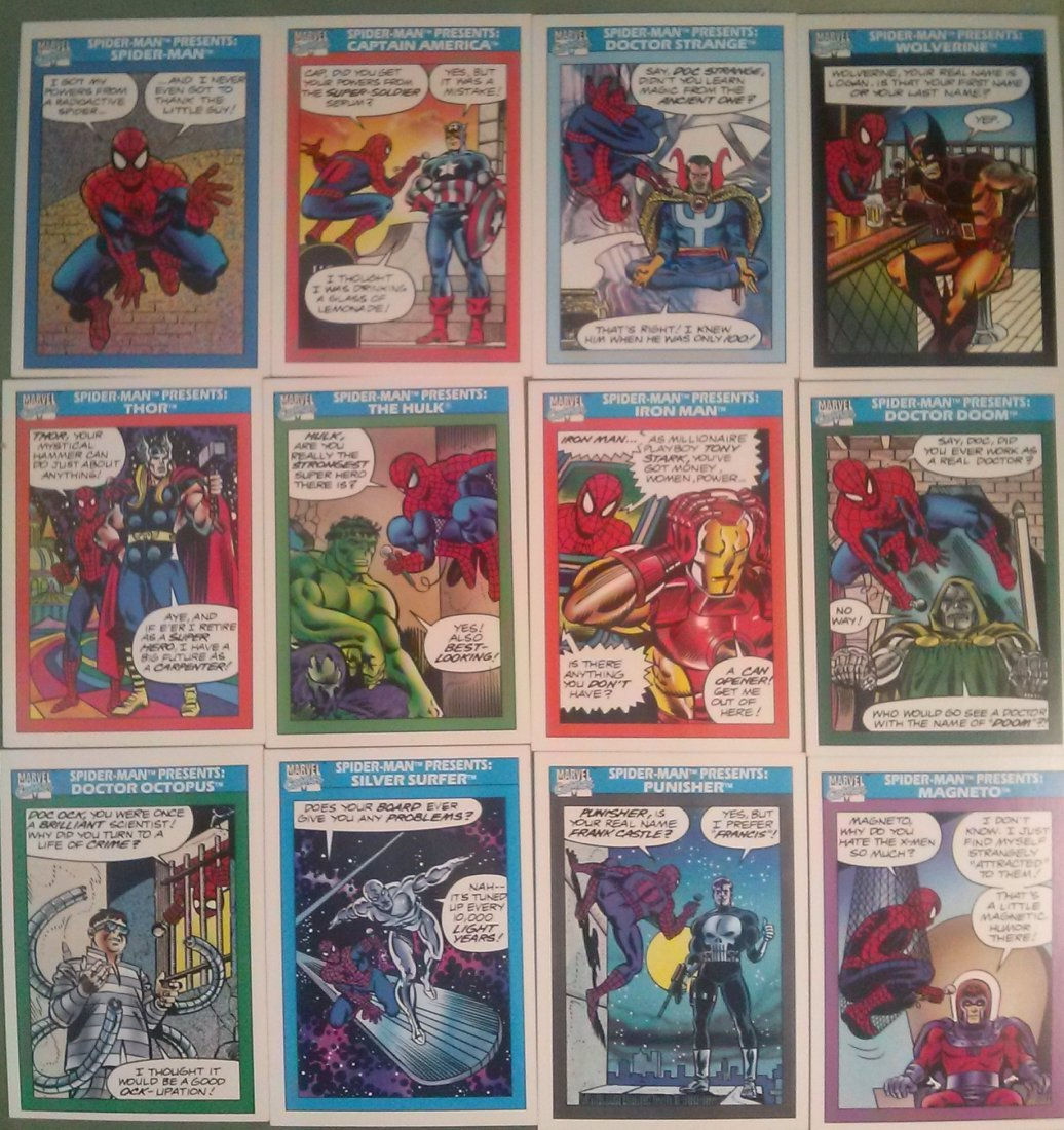 Marvel Universe Series 1 Trading Cards 1990 - 3