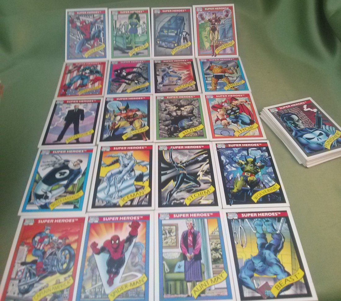Marvel Universe Series 1 Trading Cards 1990 - 6