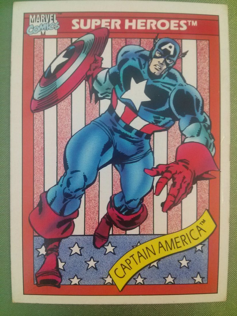 Marvel Universe Series 1 Trading Cards 1990 - 8