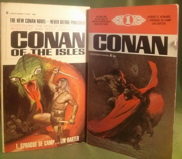 CONAN The Barbarian Paperback Lot 1st Edition 1968