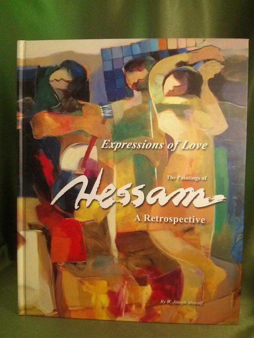 Hessam Abrishi Express of Love 1st ed 1st prin. Signed