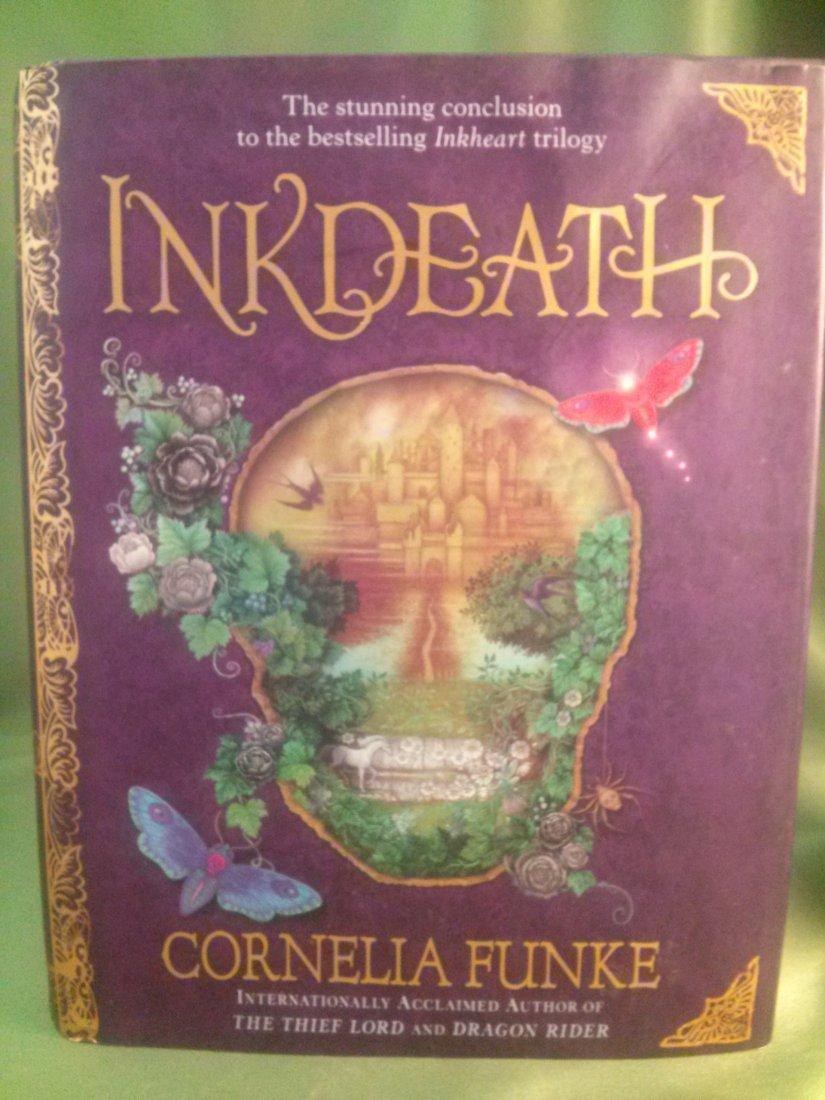 Cornelia Funke INK DEATH 1ST  ed/  1st print hardcover