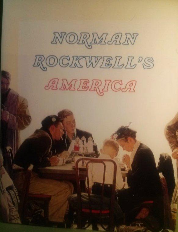 Finch NORMAN ROCKWELL'S AMERICA 1st Ed. 1st Print