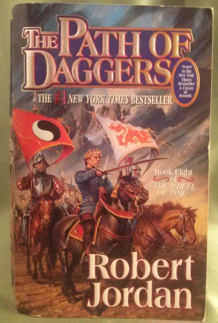 Robert Jordan THE PATH OF DAGGERS 1st EDITION paperback