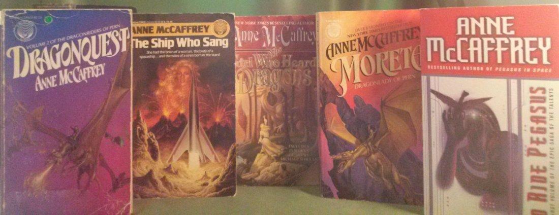 Anne McCaffrey Lot Paperback