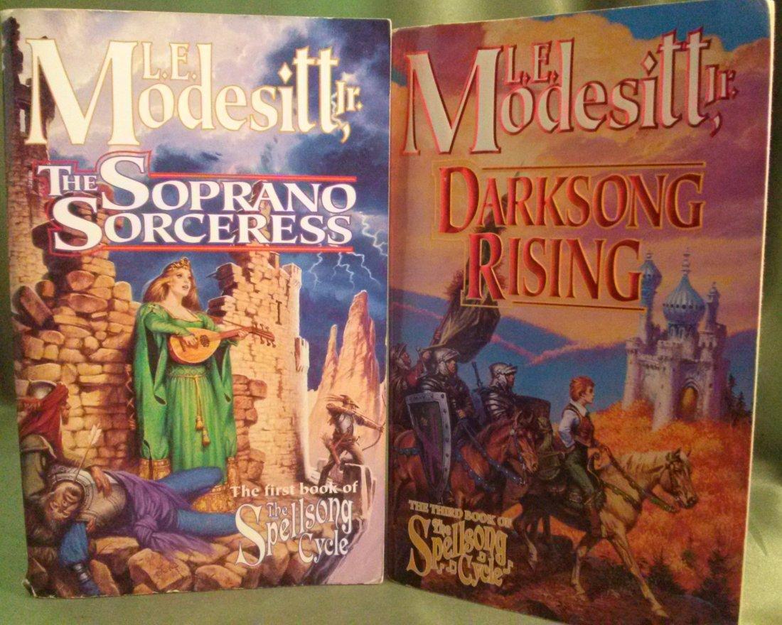 L E Modesitt Jr 1st Edition Lot Paperback ( Fiction )