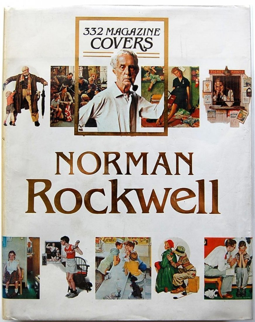 Rockwell 332 Magazine Covers by Norman Rockwell