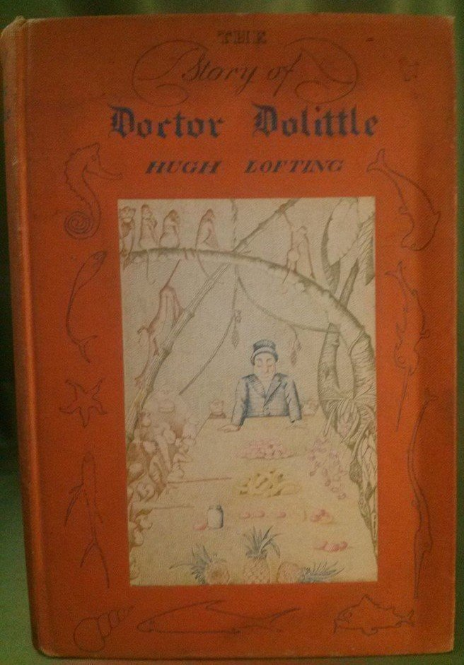 Hugh Lofting THE STORY OF DR. DOLITTLE signed 1st ed.
