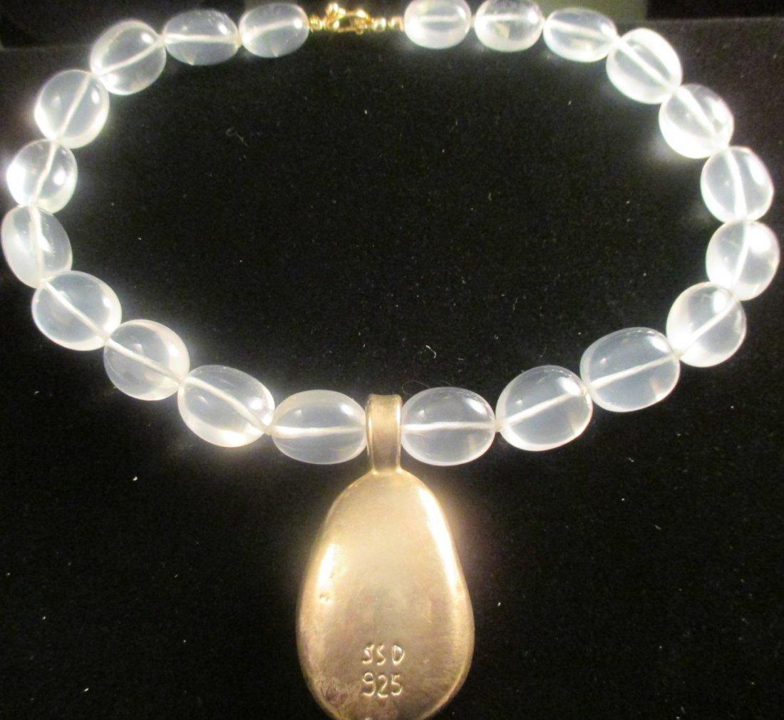 Simon Sebbag 925 Glass Bead Necklace.