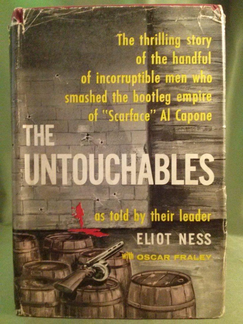 Ellot Ness The Untouchables 1st ed 1st Print 1957