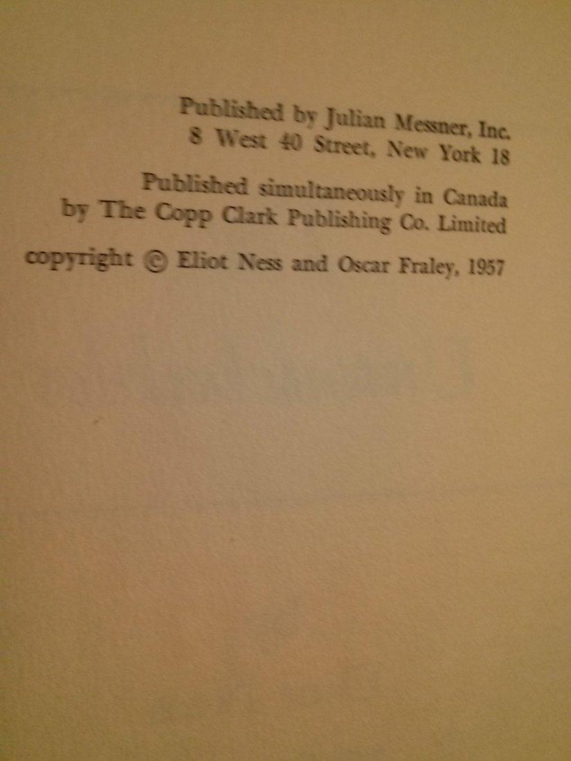 Ellot Ness The Untouchables 1st ed 1st Print 1957 - 2