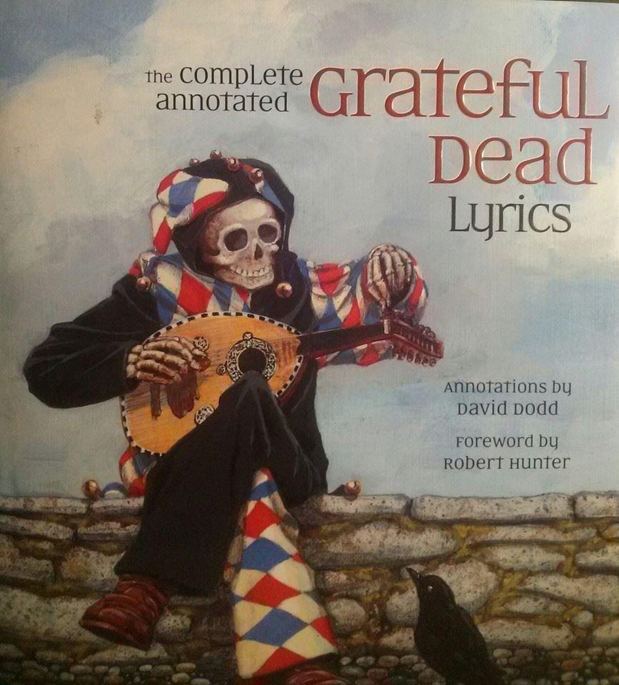 Robert Hunter David Dodd GRATEFUL DEAD LYRICS 1st Ed