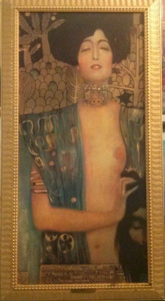 Judith 1 by Gustav Klimt { After }