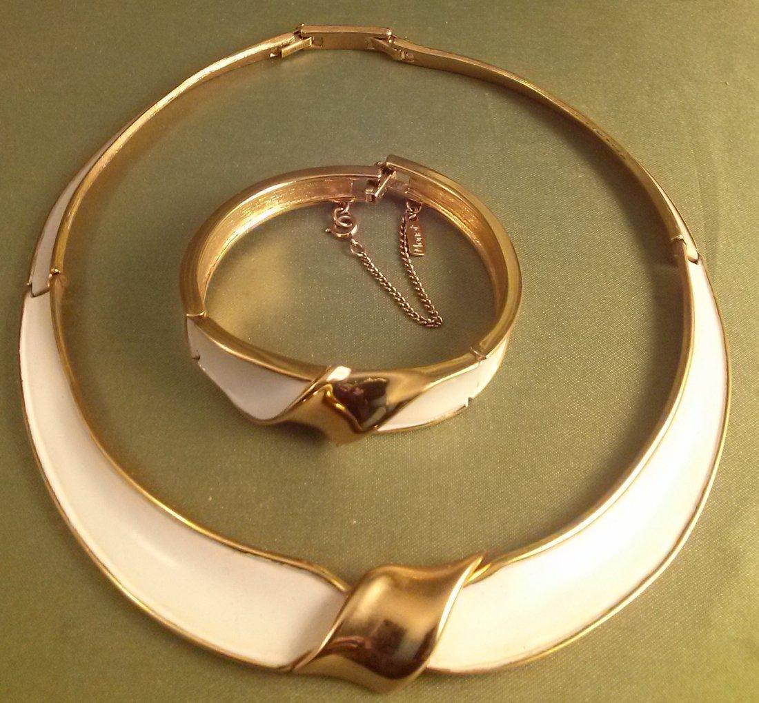 Monet Matching Necklace & Bracelet