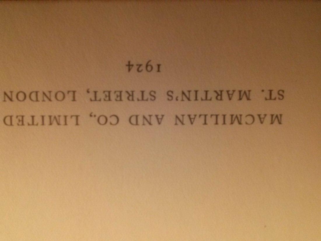 Rabindranath Tagore GORA First Edition 1924 - 5