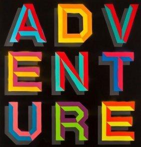 Ben Eine- Adventure