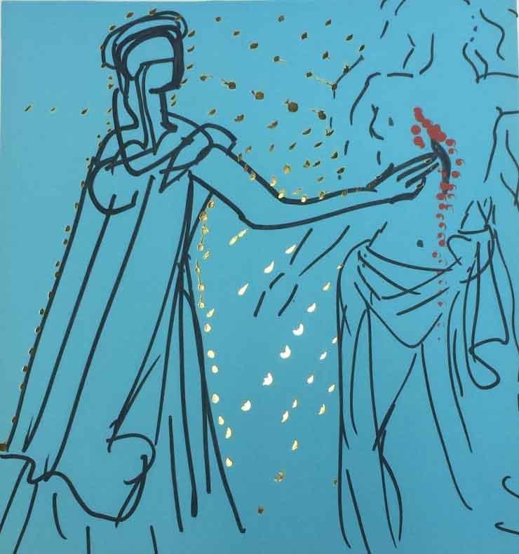 Salvador Dali - Thomas (Lancelot Healing Sir Urre)