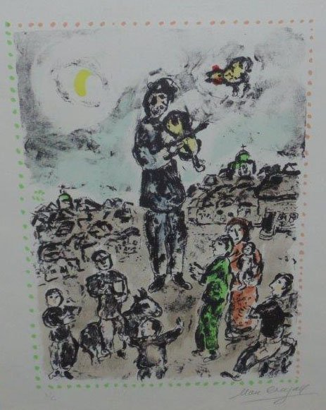Marc Chagall - Concert In The Night