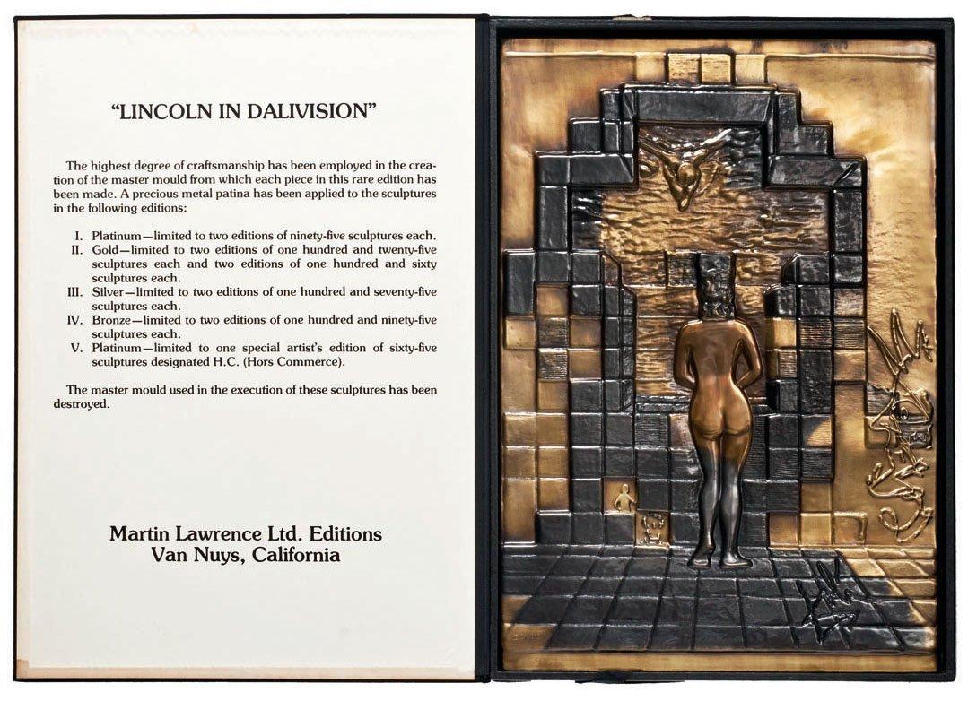 Salvador Dali- Lincoln in Dalivision