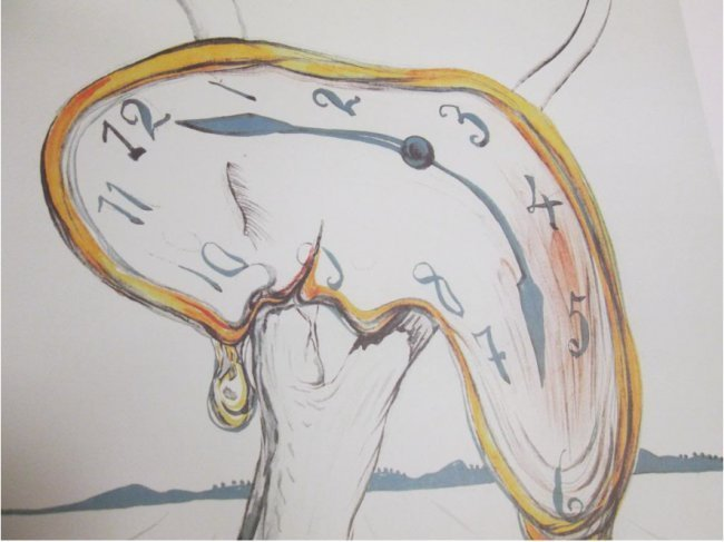 Salvador Dali - Melting Clock
