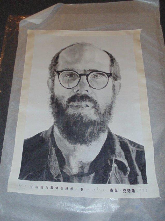Chuck Close – Self Portrait