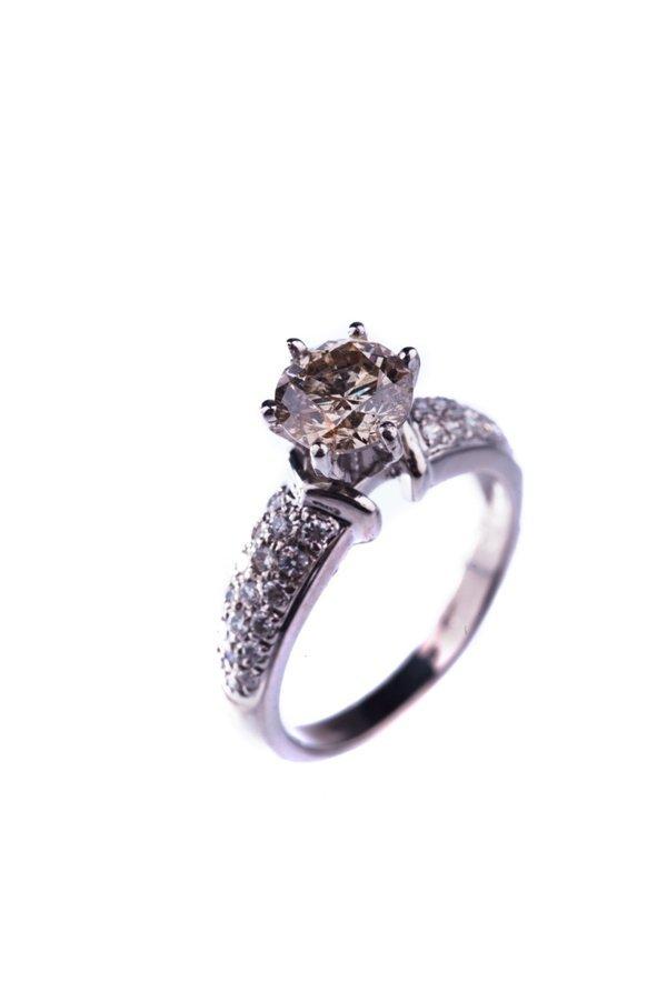 diamond ring diamond: 1ct