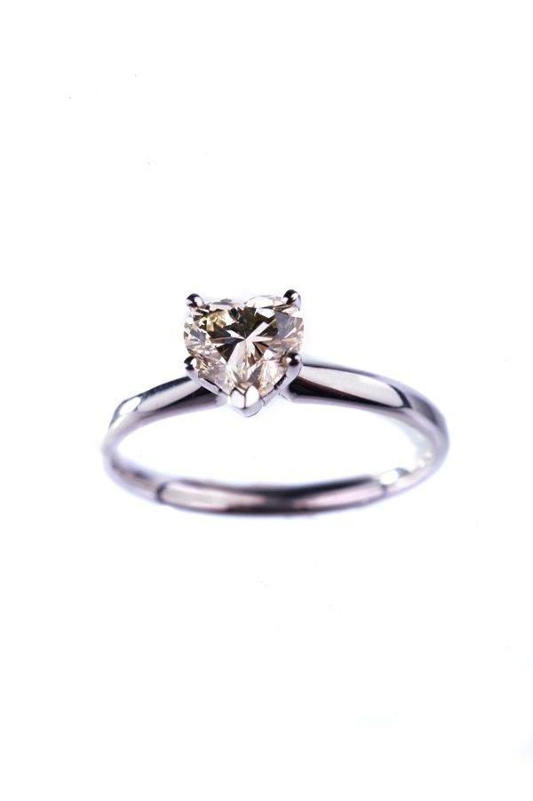 heart sharp diamond ring14k2.3g diamond: 0.90 ct