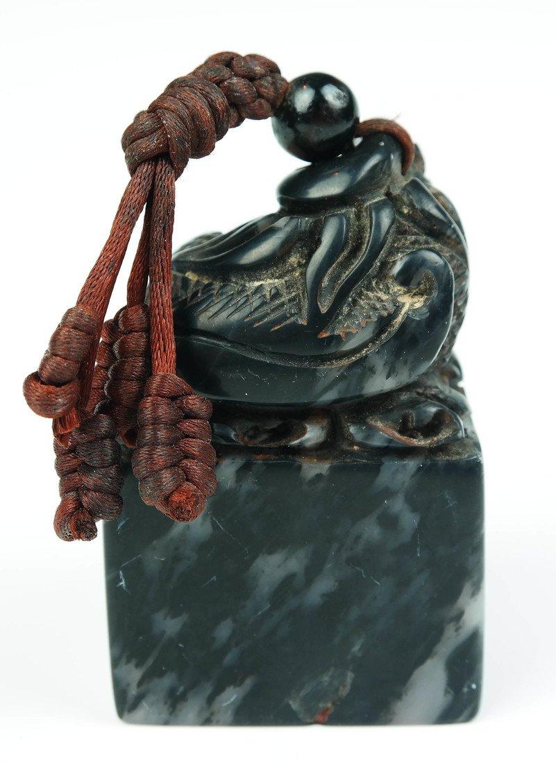 a shoushan stone seal - 3