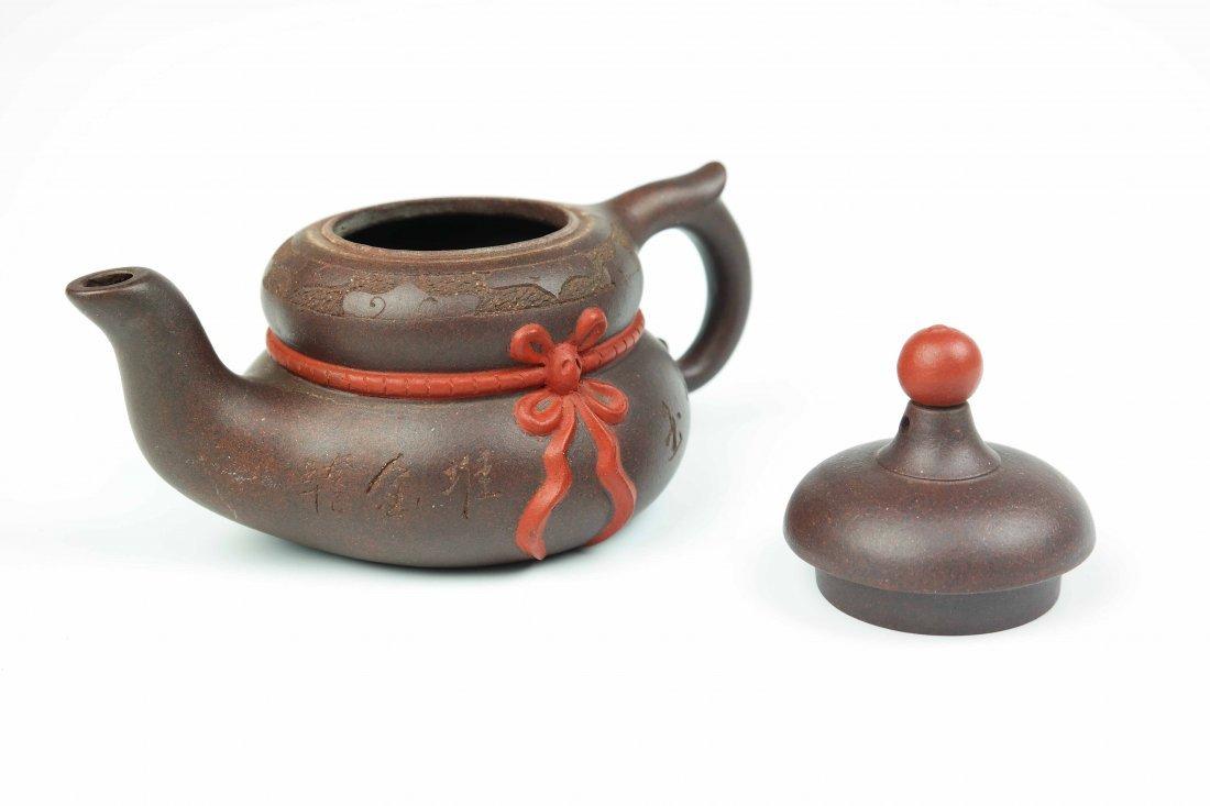 a zisha teapot - 4