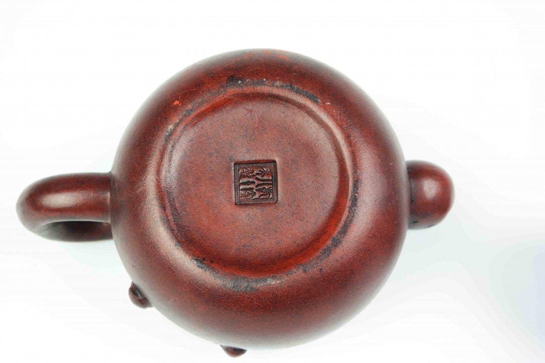 a zisha teapot - 5