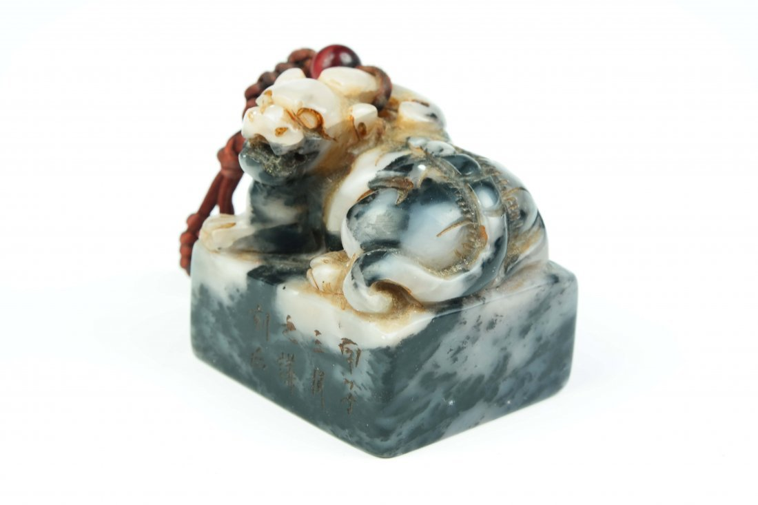 a shoushan stone seal - 2