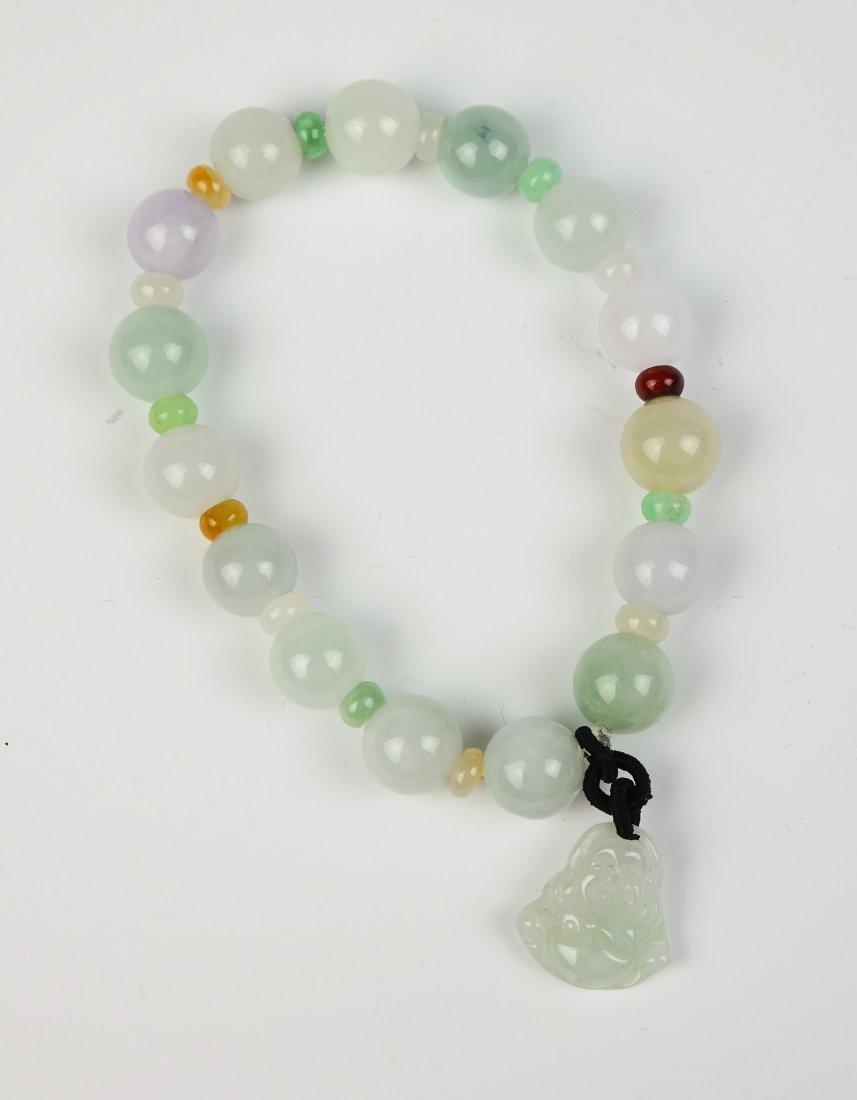 a jadeite bracelet - 3